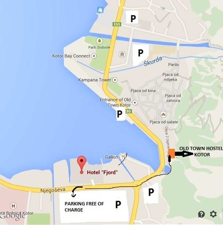 info for visitors old town kotor hostel